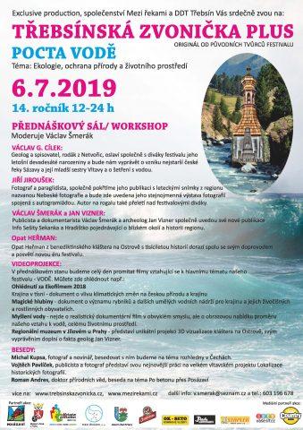 Třebsínská zvonička plus - Pocta vodě 6. 7. 2019, doprovodný program