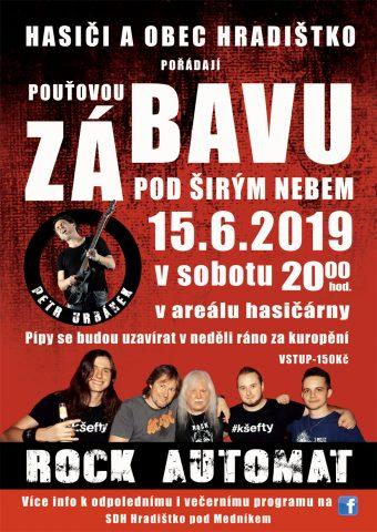 Plakát_Pouťová zábava 2019_pro FB